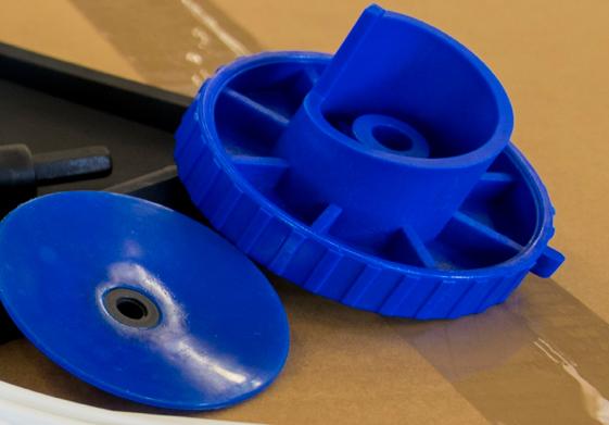 Realizzazione articoli in plastica - Dettagli su stampaggio